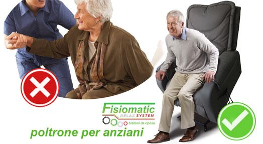 Poltrone per anziani - Poltrone relax Fisiomatic