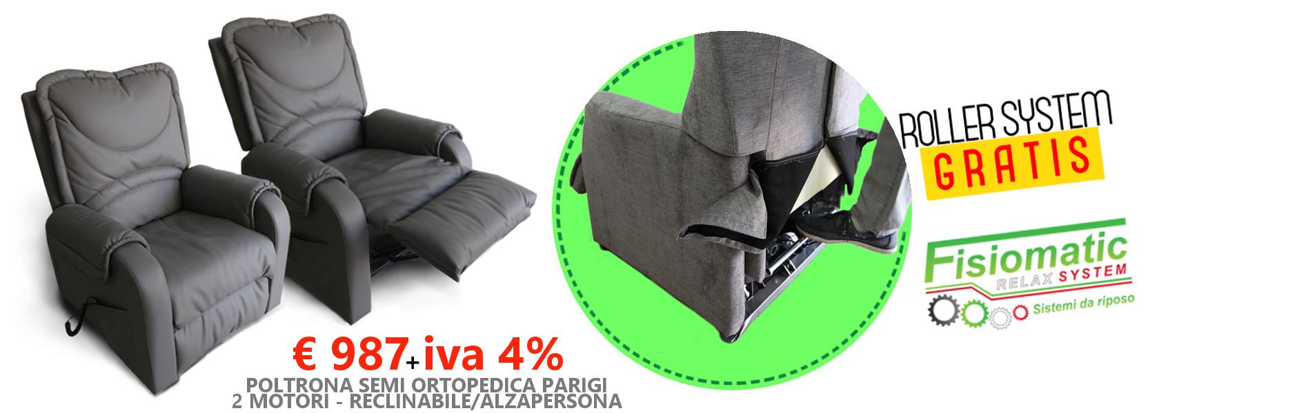 Slide-promozione-poltrona-Parigi-con-kit-roller-system-gratis-nel-prezzo